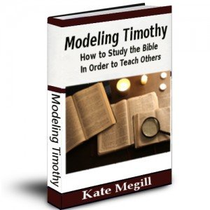Modeling Timothy study