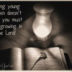 Growing in the Lord when you have young children