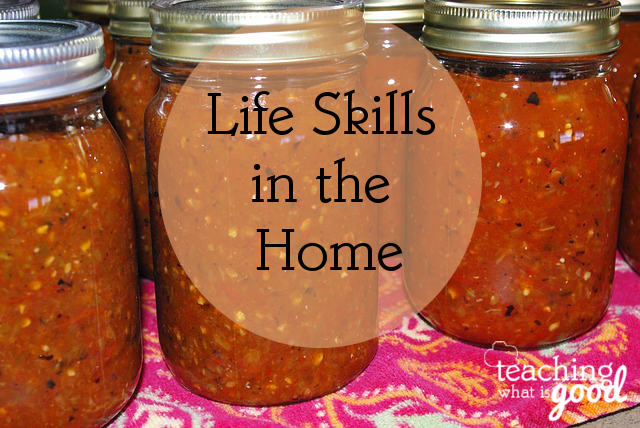 Learning life skills in homemaking can save you lots of money!