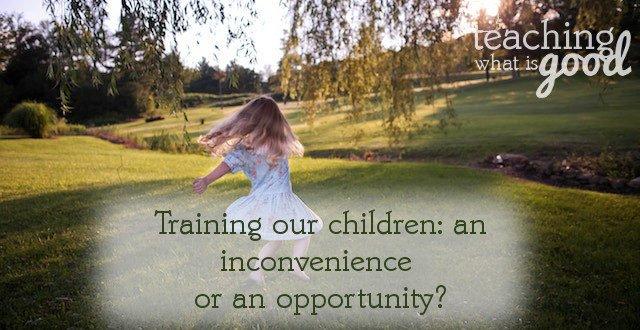 training our children