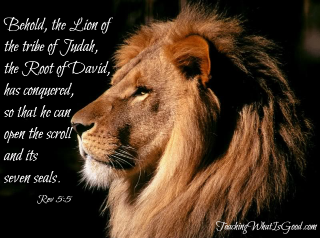 Overwhelmed By The Power Of The Lion Of Judah Teaching What Is Good