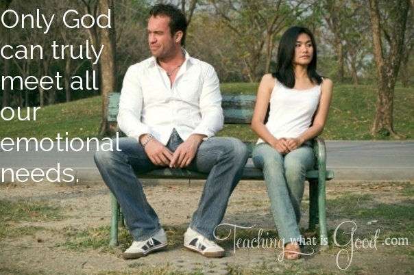 Can God provide for us emotionally?