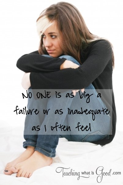 Are you feeling inadequate in your life?