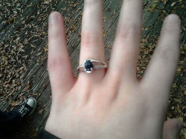 hannah's engagement ring