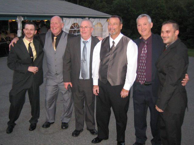 the men in the family