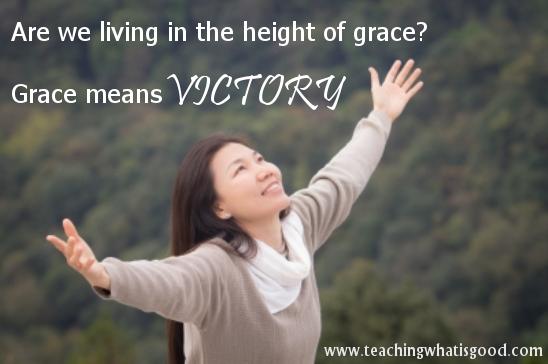 Grace: what does true grace mean?