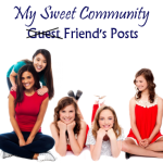 My sweet community of friend's posts