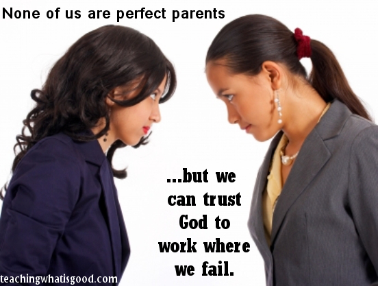 God is sovereign over our parenting
