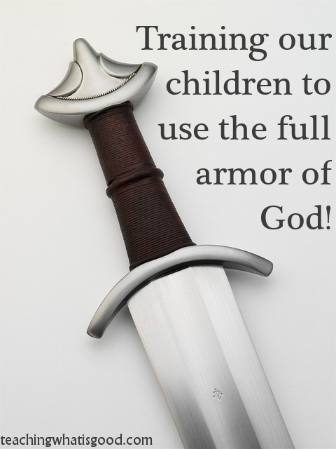 Filling in the gaps: the armor of God