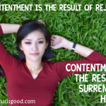 Content or discontent: that is the question!