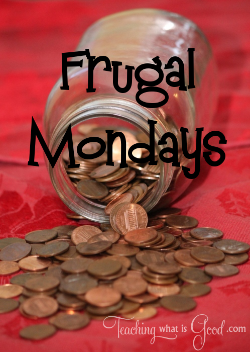 Frugal Mondays for the freezer
