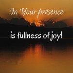 31 Days: One Word - Presence