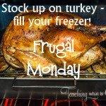 turkey frugal mondays