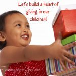 building a heart of giving