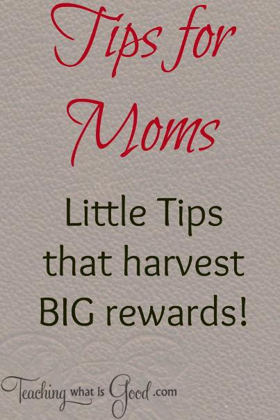 tips for moms