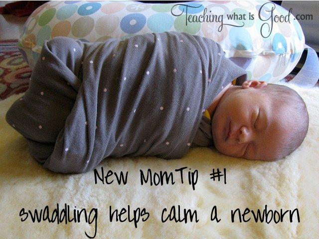 Tip #1 – Simple help for struggling New Moms