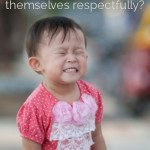 building good speech patterns into our children