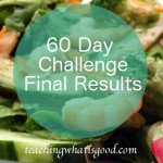 60 Day Challenge Final Results