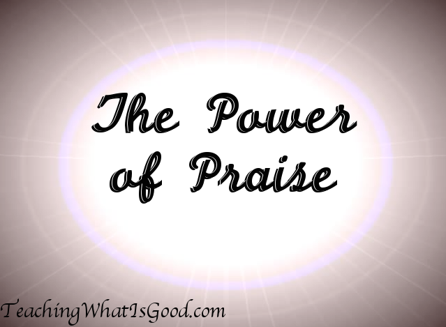 The joy and freedom of praise