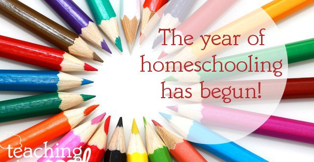 Year 27 of homeschooling begins this week!