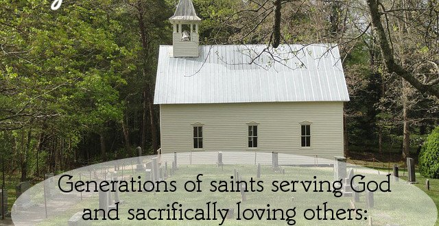sacrifice is what makes church done right
