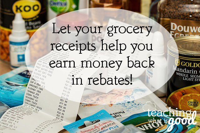Another way to save money on groceries: rebates