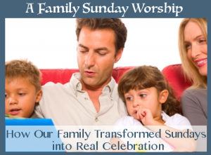 family sunday worship book cover