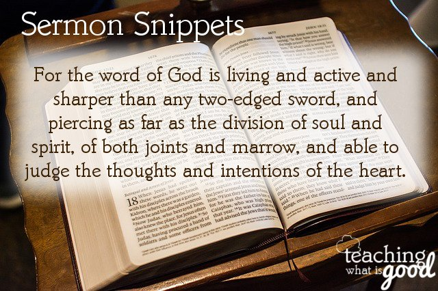 sermon snippets living by faith in the Son of God