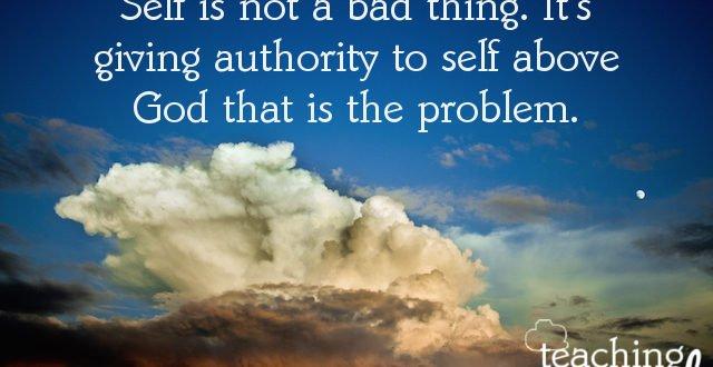 is self good or bad