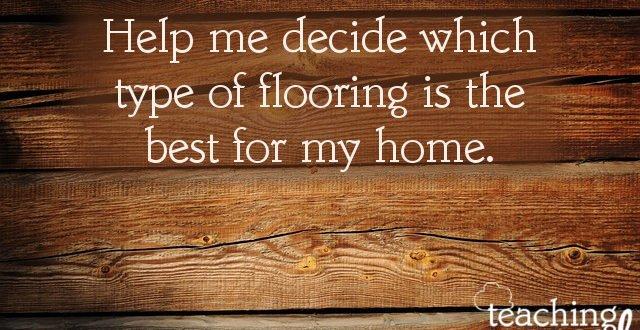 flooring help