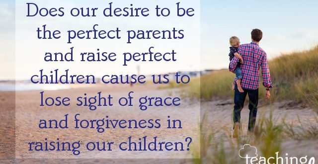 perfect parenting is a myth, don't fall into the trap