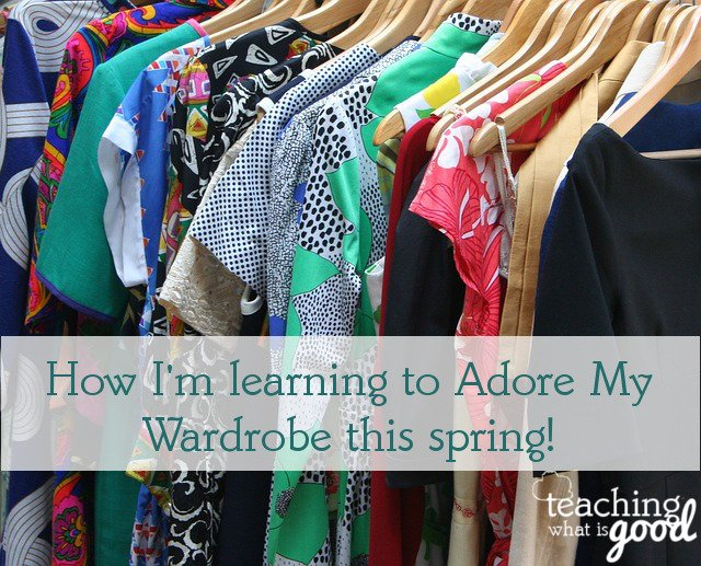 Spring Fling Challenge and Adore Your Wardrobe updates
