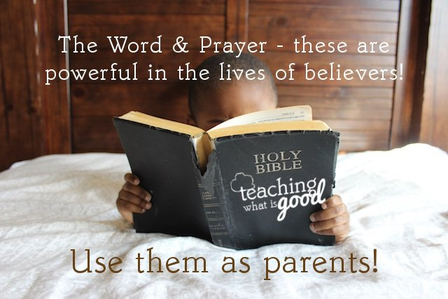 Are you praying over your children?