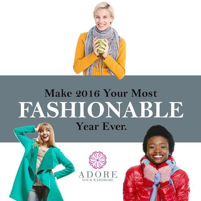 An opportunity for you to Adore Your Wardrobe!