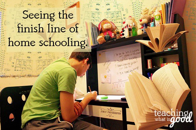 the long haul of homeschooling