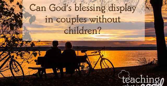Does God's blessing always and only mean children?