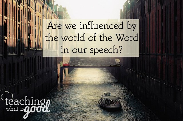 Does the world see genuine faith by our words?