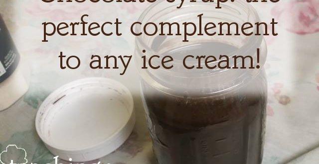 menu and ice cream