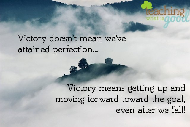Are you struggling to find victory? Do you feel defeated?