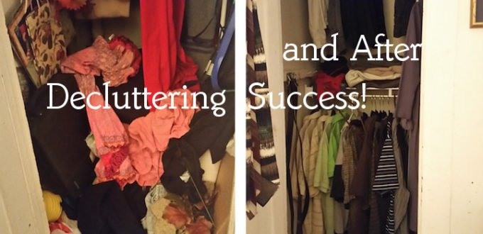 decluttering success